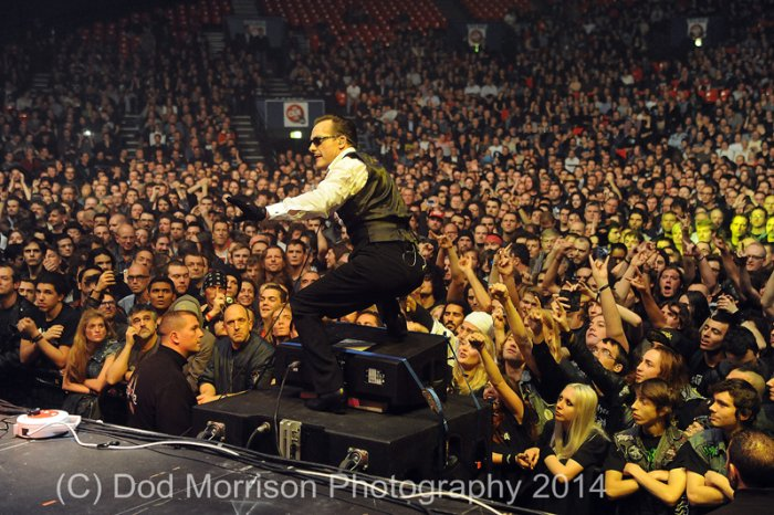 the Damned @ le zenith -Paris 18-11-14