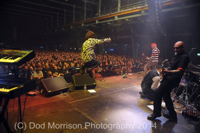 the Damned @ Zenith, Munich, Germany 10-11-14