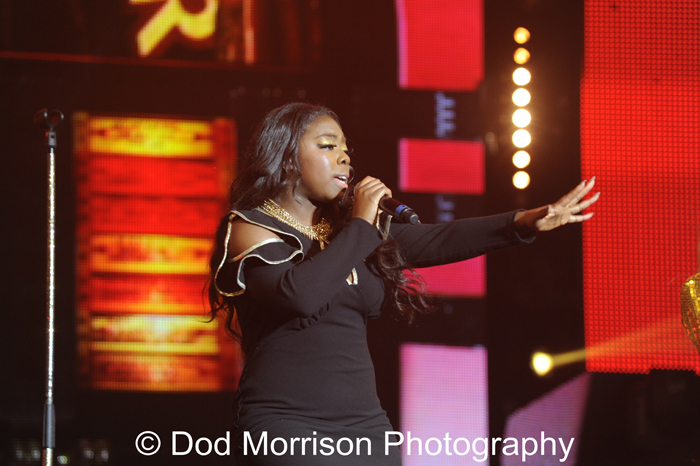 Hannah Barrett  X Factor @ AECC  Aberdeen March 2014