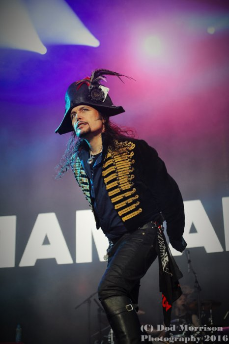 Adam Ant @ rewind scotland july 2016
