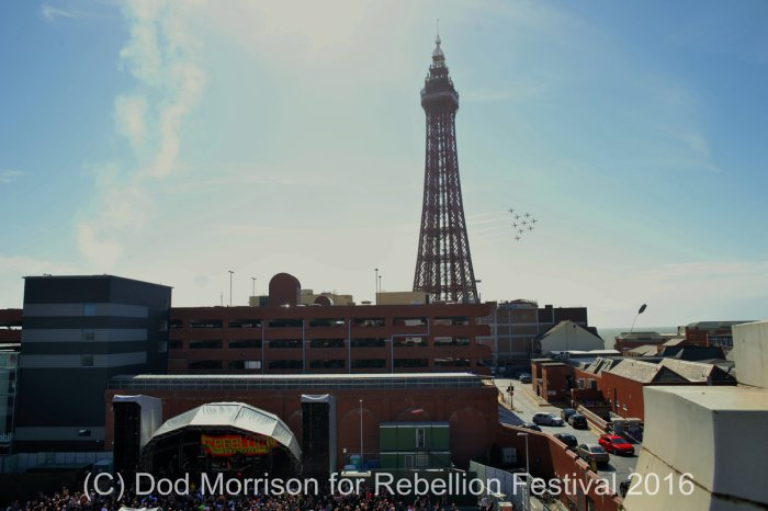 Red Arrows @ Rebellion  2016