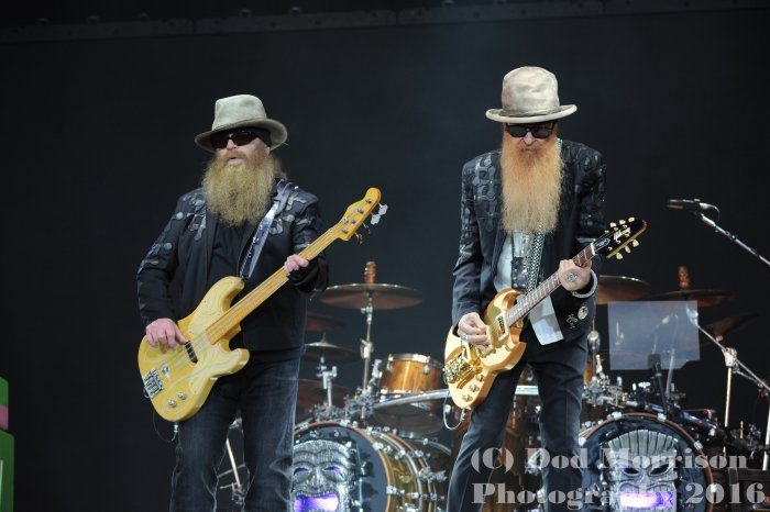 ZZ top  @ glastonbury 2016