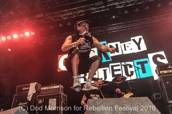 cockney rejects @ rebellion 2016