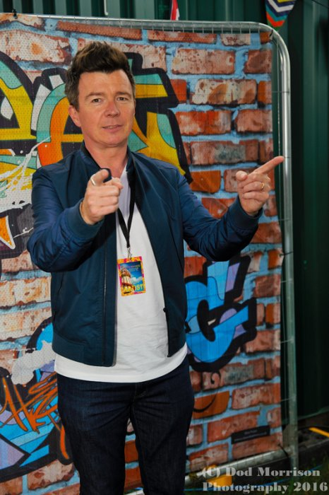 rick astley @ rewind scotland july 2016