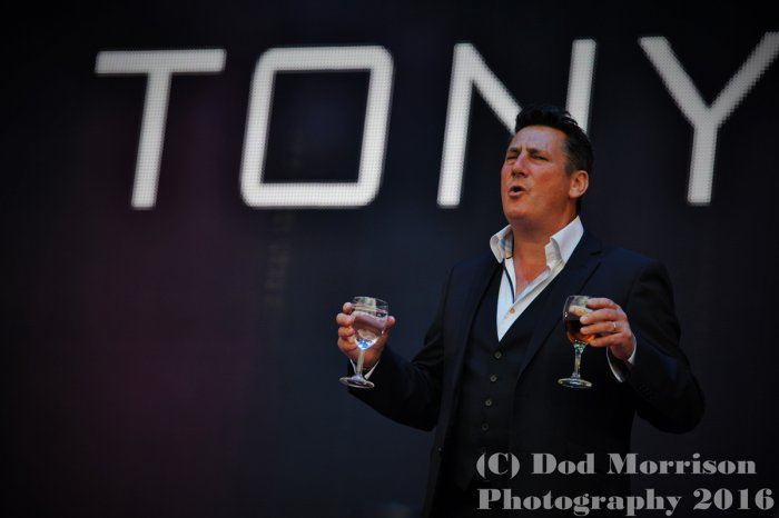 tony hadley @ rewind scotland scotland july 2016