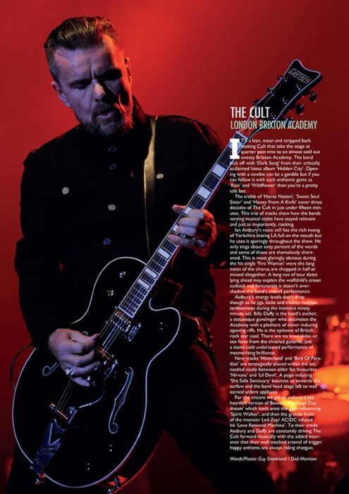 the cult  - Vive le Rock may 2016