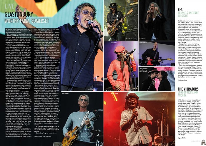 glastonbury 2015 - Vive le rock magazine