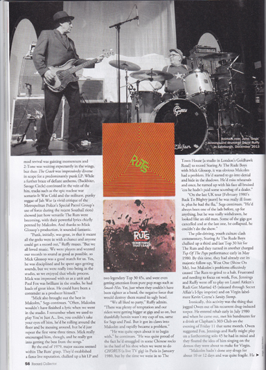 Ruts dc record collector Jan 2014
