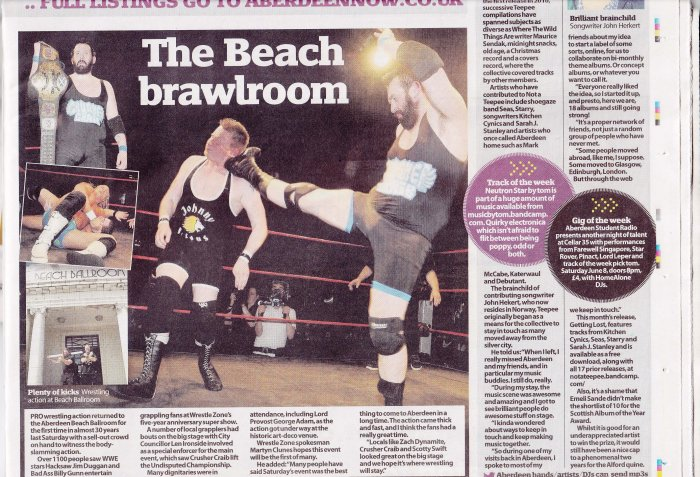wrestling Evening Express June 2013