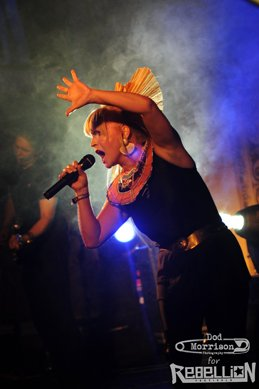 toyah @ Rebellion,Blackpool 2011