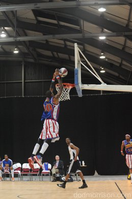 Harlem Globetrotters AECC March Aberdeen 2013